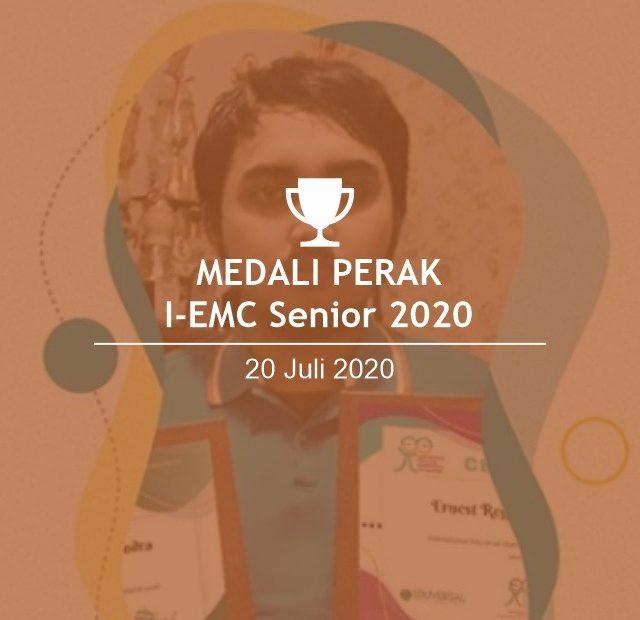 MEDALI PERAK I-EMC Ernest