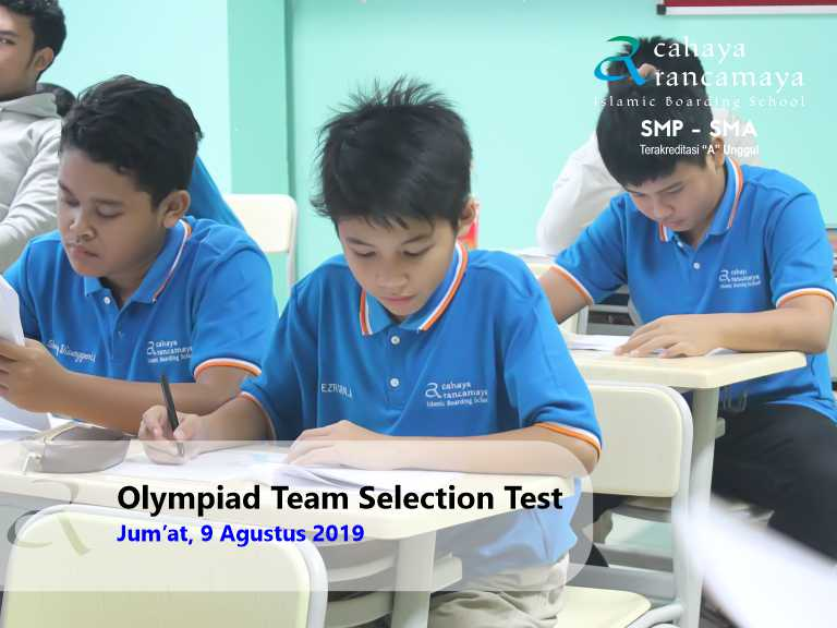 Olympiad Team Selection Test