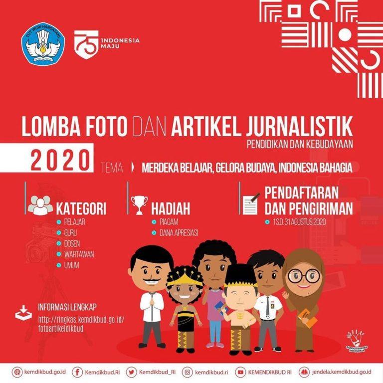 Lomba Foto dan Artikel Jurnalistik 2020